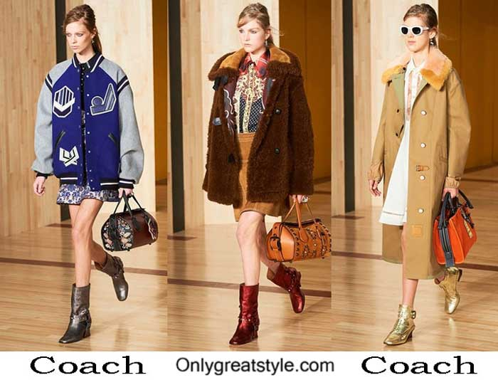 Coach Fall Winter 2016 2017 Fashion Clothing For Women
