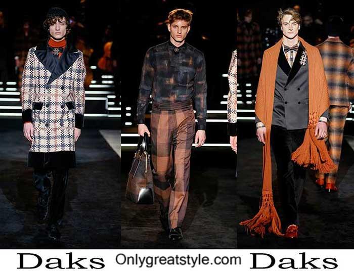 Daks Fall Winter 2016 2017 Fashion Clothing For Men