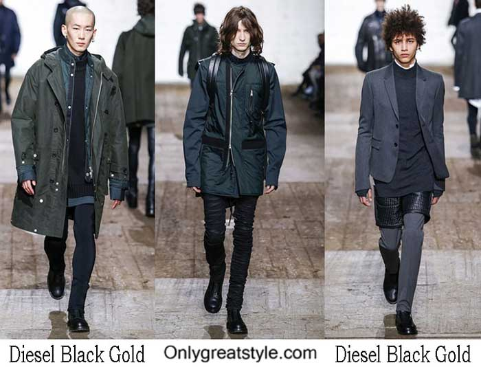 Diesel Black Gold Fall Winter 2016 2017 Clothing For Men