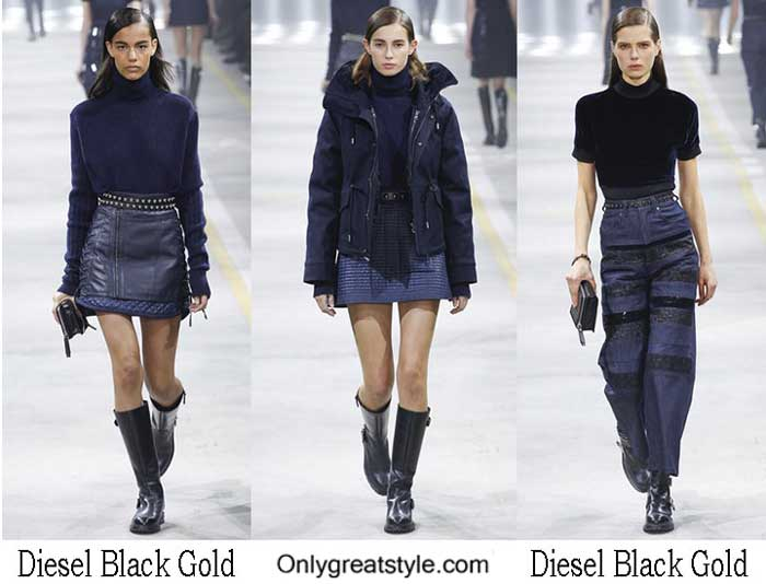 Diesel Black Gold Fall Winter 2016 2017 Lifestyle For Women