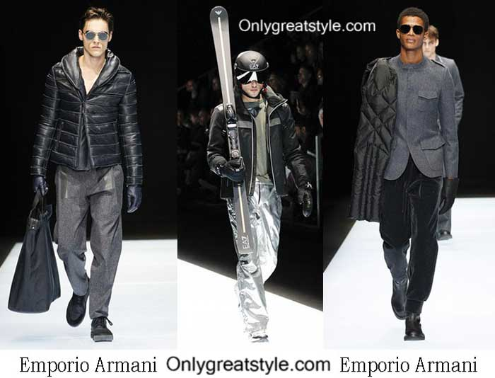 Emporio Armani Fall Winter 2016 2017 Clothing For Men