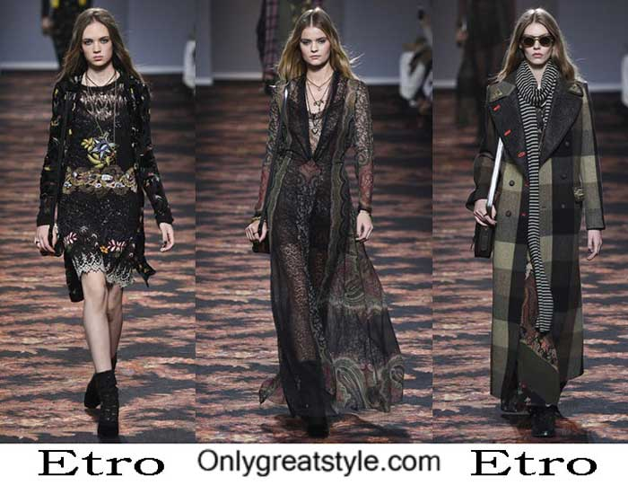 Etro Fall Winter 2016 2017 Style Brand For Women Look