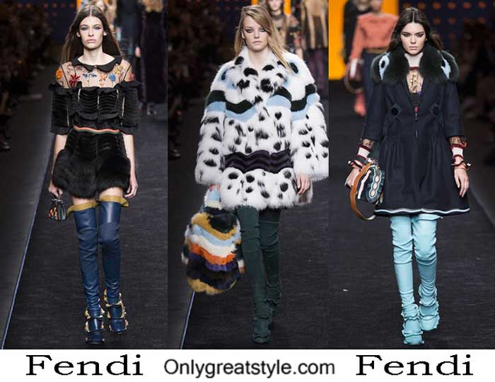 Fendi Fall Winter 2016 2017 Style Brand For Women