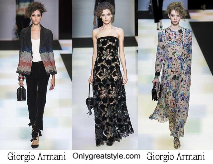 Giorgio Armani Fall Winter 2016 2017 Lifestyle For Women