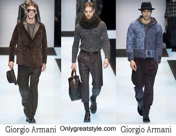 Giorgio Armani Fall Winter 2016 2017 Style Brand For Men