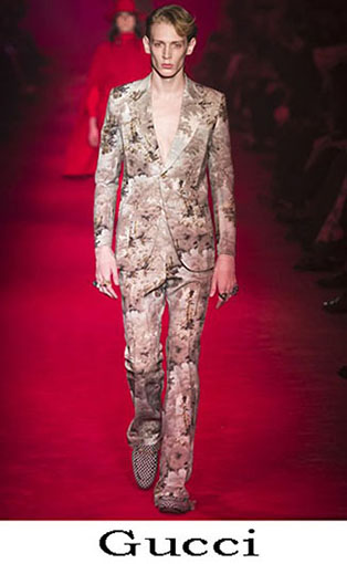 Gucci Fall Winter 2016 2017 Fashion Clothing For Men 1