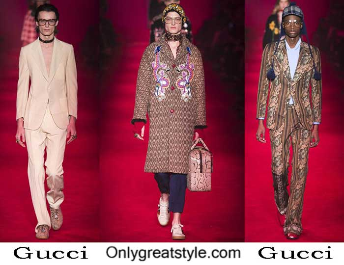 Gucci Fall Winter 2016 2017 Fashion Clothing For Men