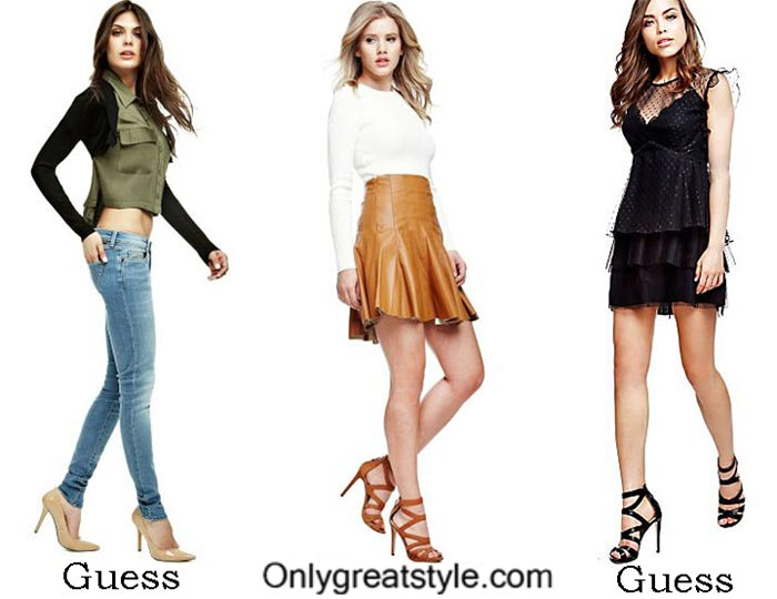 Guess Fall Winter 2016 2017 Lifestyle For Women