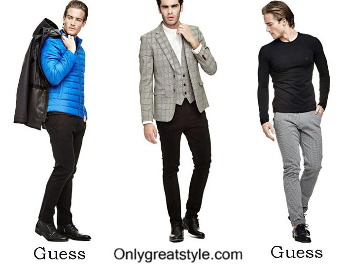 Guess Fall Winter 2016 2017 Style Brand For Men