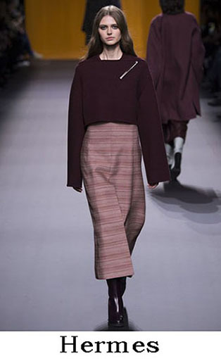 Hermes Fall Winter 2016 2017 Fashion Clothing Women 1