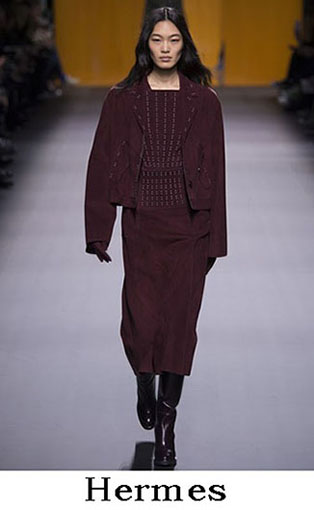Hermes Fall Winter 2016 2017 Fashion Clothing Women 34
