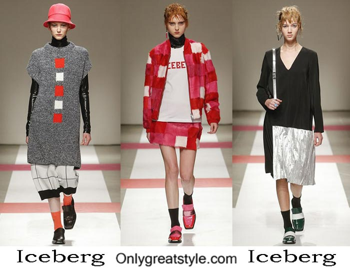 Iceberg Fall Winter 2016 2017 Style Brand For Women
