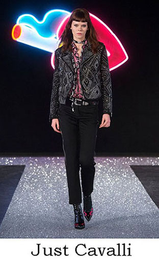 Just Cavalli Fall Winter 2016 2017 Fashion Clothing Look 4