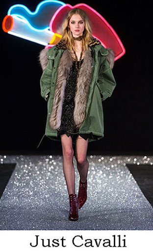 Just Cavalli Fall Winter 2016 2017 Fashion Clothing Look 5