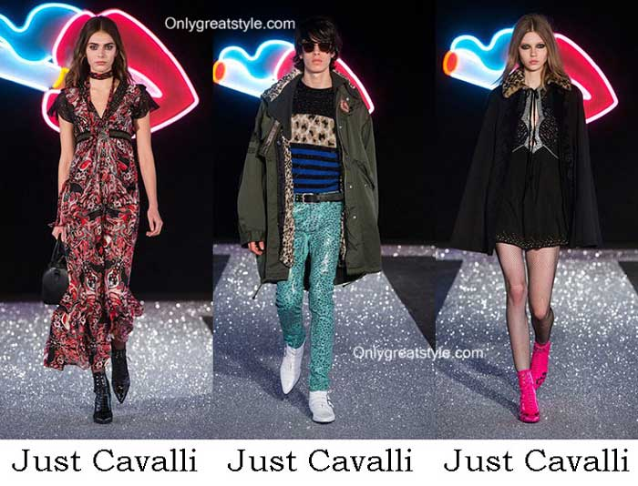 Just Cavalli Fall Winter 2016 2017 Fashion Clothing