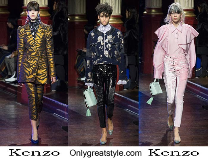 Kenzo Fall Winter 2016 2017 Fashion Clothing For Women