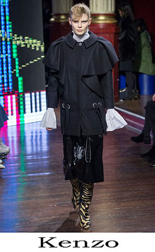 Kenzo Fall Winter 2016 2017 Fashion Clothing Women 11