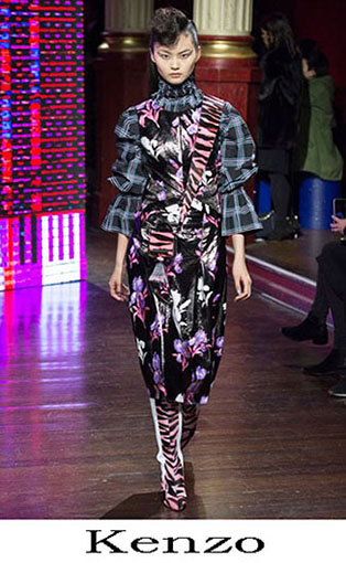 Kenzo Fall Winter 2016 2017 Fashion Clothing Women 16