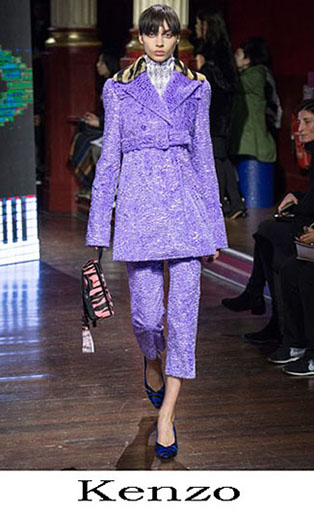 Kenzo Fall Winter 2016 2017 Fashion Clothing Women 21