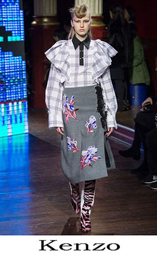Kenzo Fall Winter 2016 2017 Fashion Clothing Women 31
