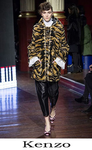 Kenzo Fall Winter 2016 2017 Fashion Clothing Women 33