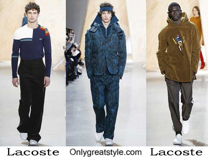 Lacoste Fall Winter 2016 2017 Fashion Clothing For Men