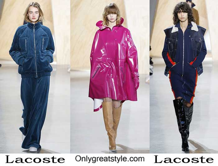 Lacoste Fall Winter 2016 2017 Style Brand For Women