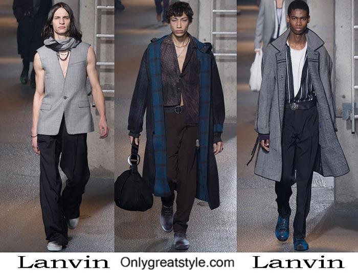 Lanvin Fall Winter 2016 2017 Fashion Clothing For Men