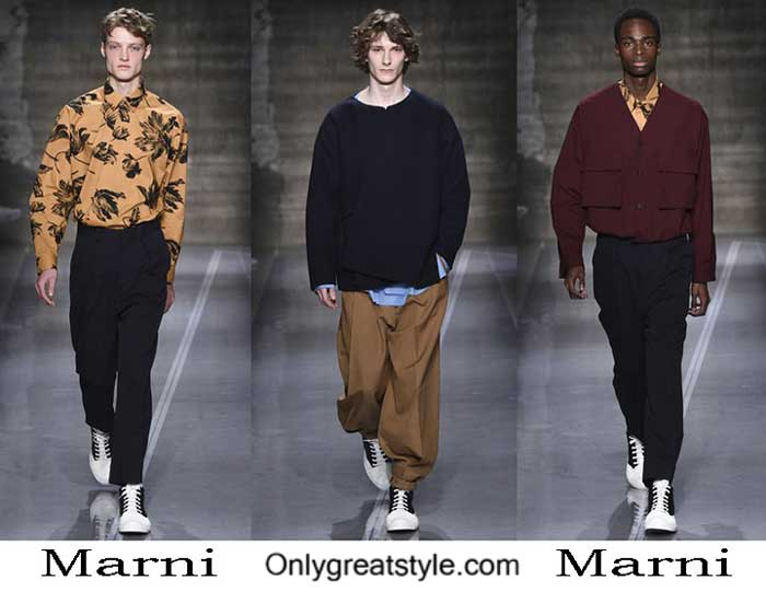 Marni Fall Winter 2016 2017 Fashion Clothing For Men