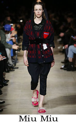 Miu Miu Fall Winter 2016 2017 Fashion Clothing Women 17