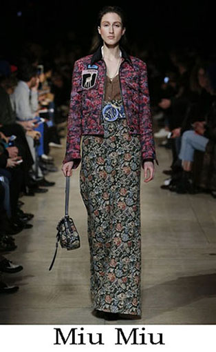 Miu Miu Fall Winter 2016 2017 Fashion Clothing Women 21