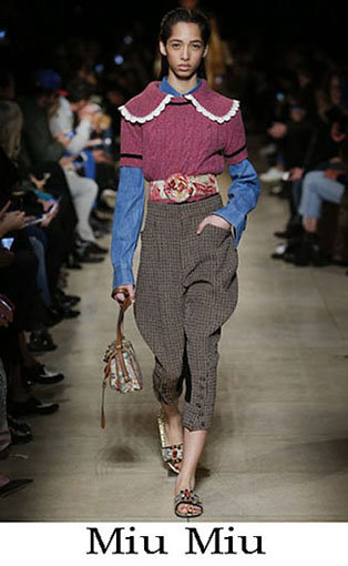 Miu Miu Fall Winter 2016 2017 Fashion Clothing Women 31