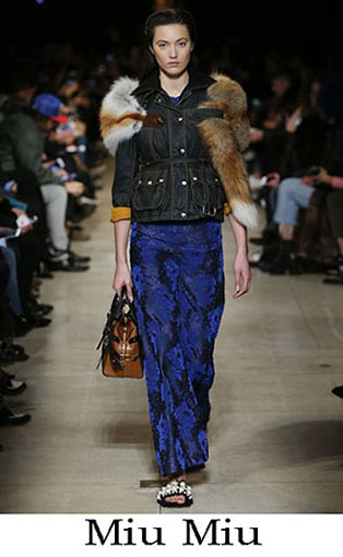 Miu Miu Fall Winter 2016 2017 Fashion Clothing Women 36