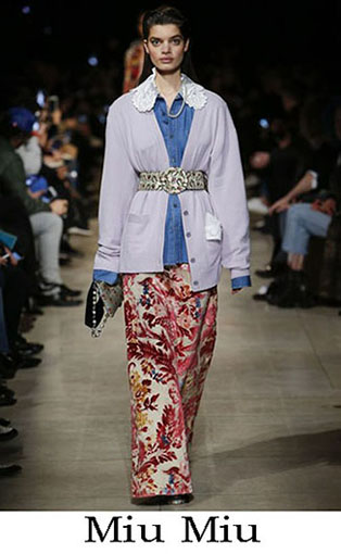 Miu Miu Fall Winter 2016 2017 Fashion Clothing Women 49