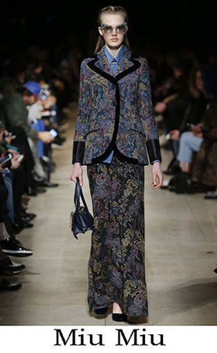 Miu Miu Fall Winter 2016 2017 Fashion Clothing Women 8