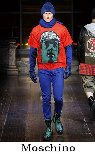 Moschino Fall Winter 2016 2017 Clothing For Men 20