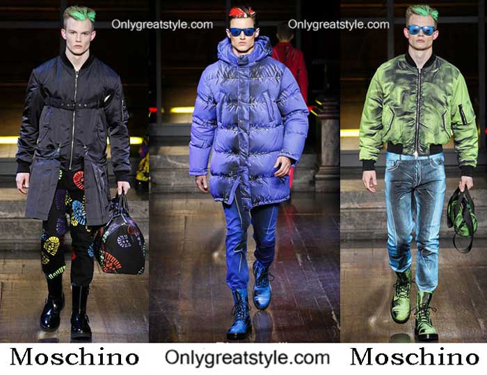 Moschino Fall Winter 2016 2017 Fashion Clothing For Men