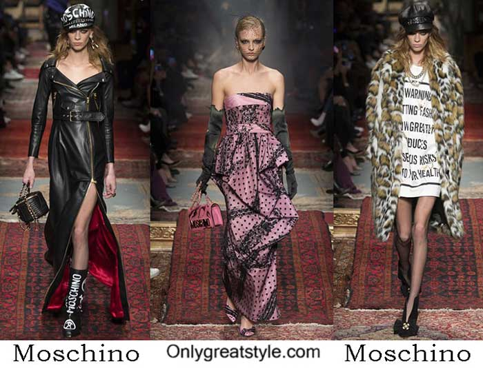 Moschino Fall Winter 2016 2017 Lifestyle For Women