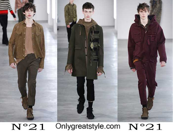 N°21 Fall Winter 2016 2017 Fashion Clothing For Men