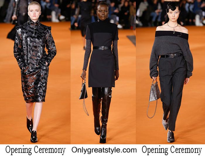 Opening Ceremony Fall Winter 2016 2017 Fashion