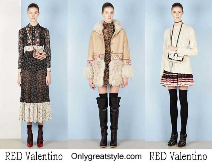 RED Valentino Fall Winter 2016 2017 Style For Women