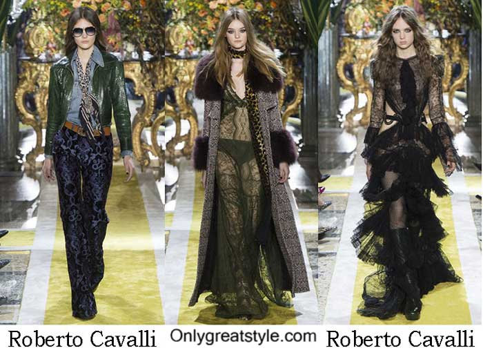 Roberto Cavalli Fall Winter 2016 2017 Fashion For Women