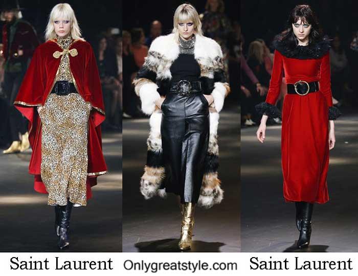 Saint Laurent Fall Winter 2016 2017 Style For Women