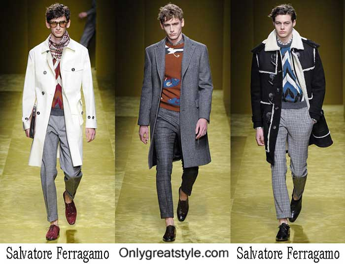 Salvatore Ferragamo Fall Winter 2016 2017 Clothing For Men