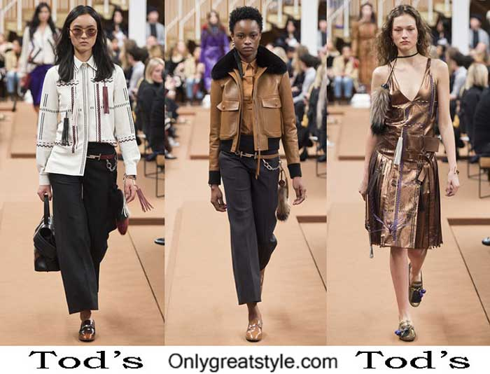 Tod's Fall Winter 2016 2017 Fashion Clothing For Women