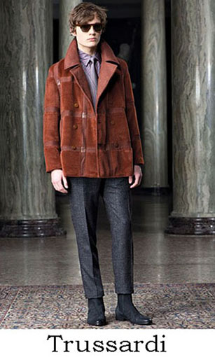 Trussardi Fall Winter 2016 2017 Clothing For Men Look 1