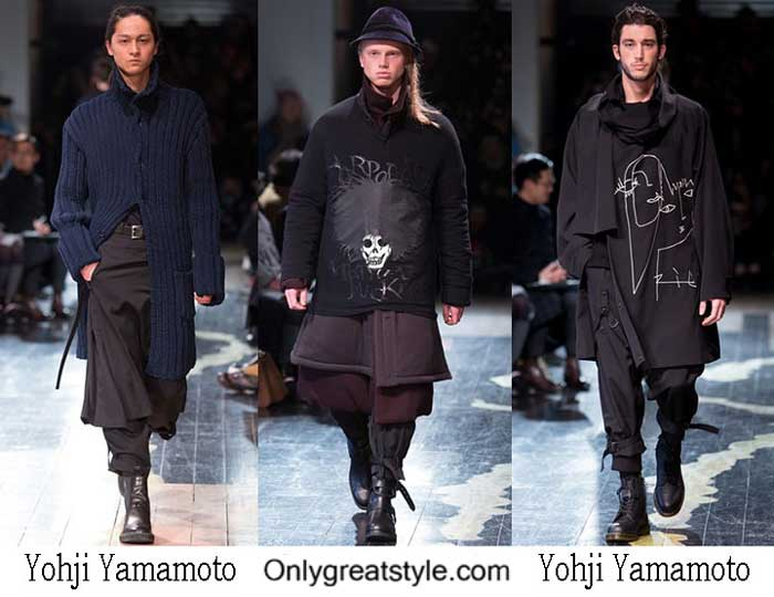 Yohji Yamamoto Fall Winter 2016 2017 Style For Men
