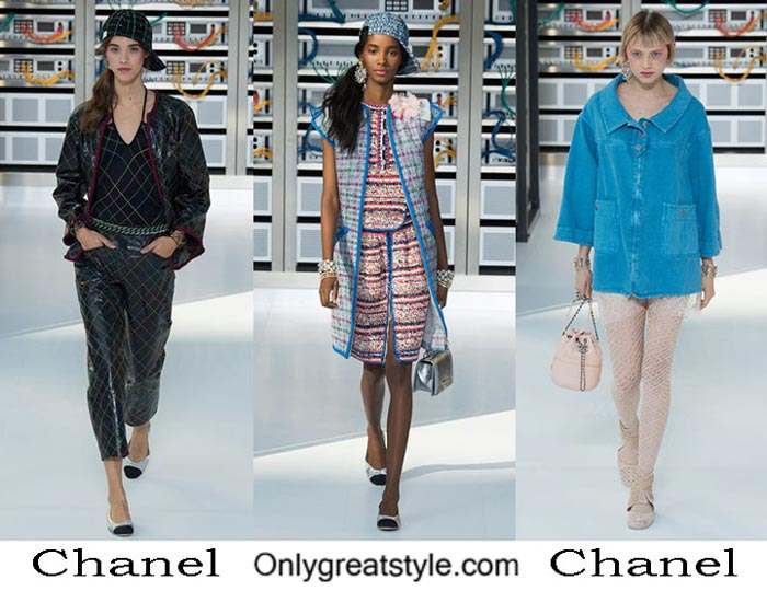 Chanel Spring Summer 2017 Fashion Clothing For Women