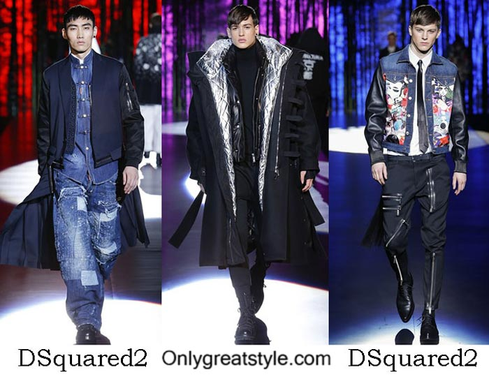 DSquared2 Fall Winter 2016 2017 Clothing For Men