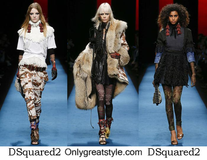 DSquared2 Fall Winter 2016 2017 Style Brand For Women